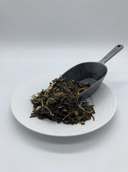 Weißer Cream Tee