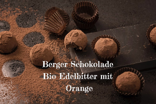 Berger Schokolade - Bio Edelbitter Orange