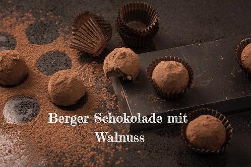 Berger Schokolade - Vollmilch Walnuss gefüllt