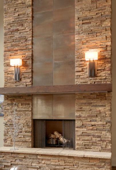 Metal and Stone Fireplace.png