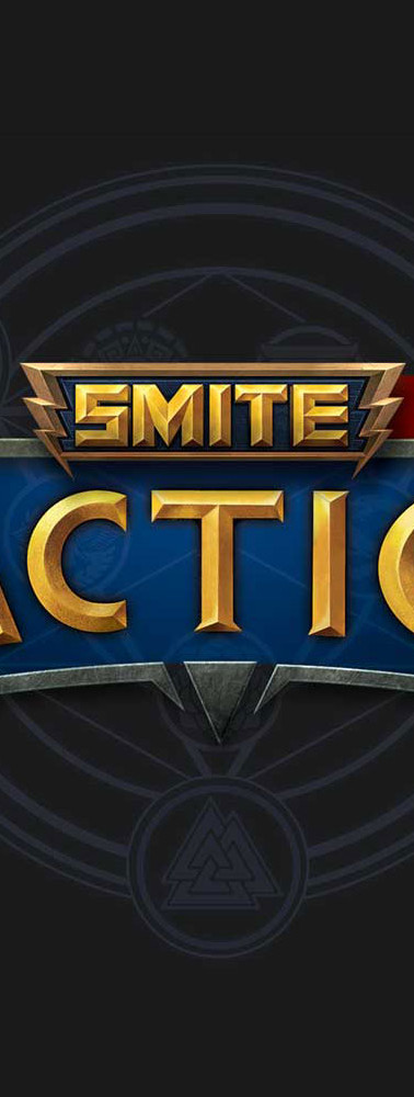 Logo for the game SMITE: Tactics