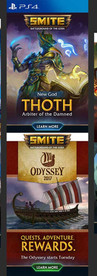 SMITE Mailers