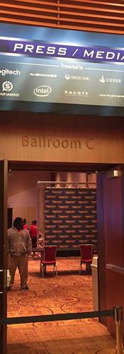 Media Room Signage