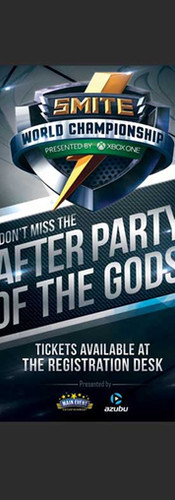 After Party Invitation and Signage