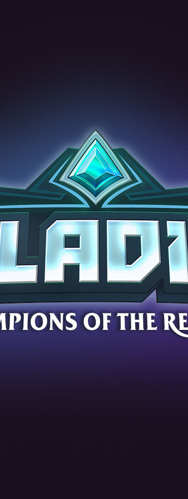 Logo for the game Paladins