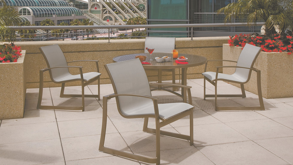 MainSail Sling Outdoor Dining Collection