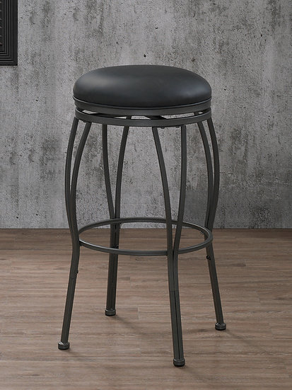 Romano Stool in Gunmetal