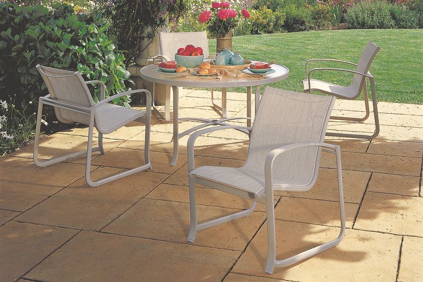 Spinnaker Sling Outdoor Dining Collection