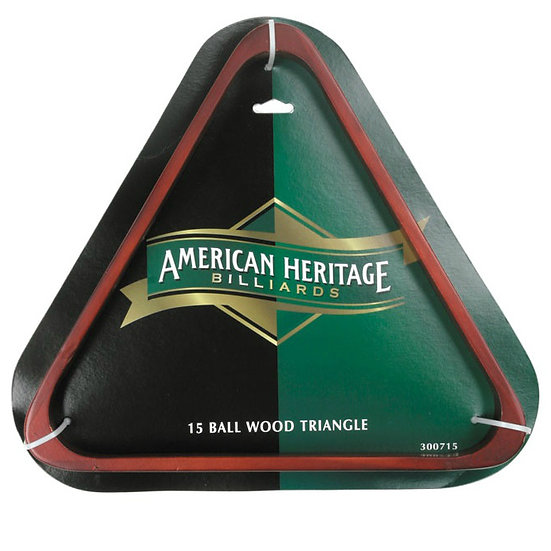 15 Ball-Wood Triangle