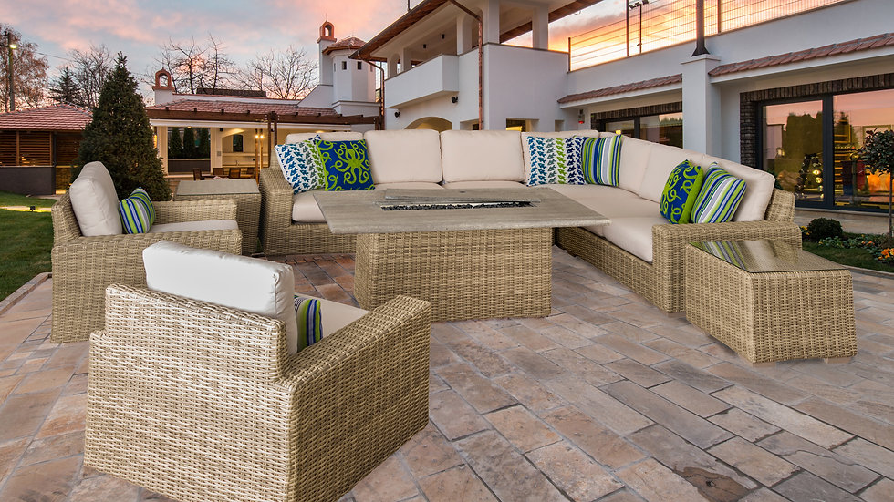 Luna Fire Pit Seating