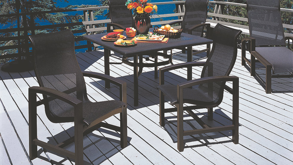 Lakeside Sling Outdoor Dining Collection