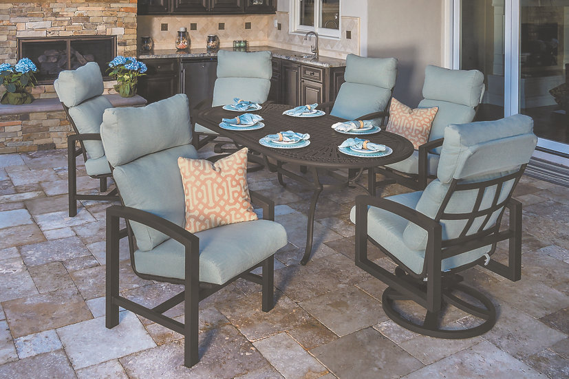 Lakeside Cushion Outdoor Dining Collection