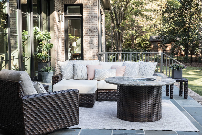 Contempo Fire Pit Seating Group