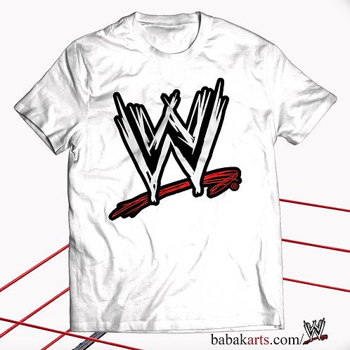 Official T Shirt World Wrestling Entertainment WWE, Classic Logo shirt