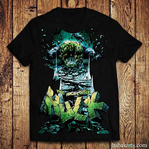 Hulk Smash T-shirt, The Incredible Hulk t shirt/Comics t shirt