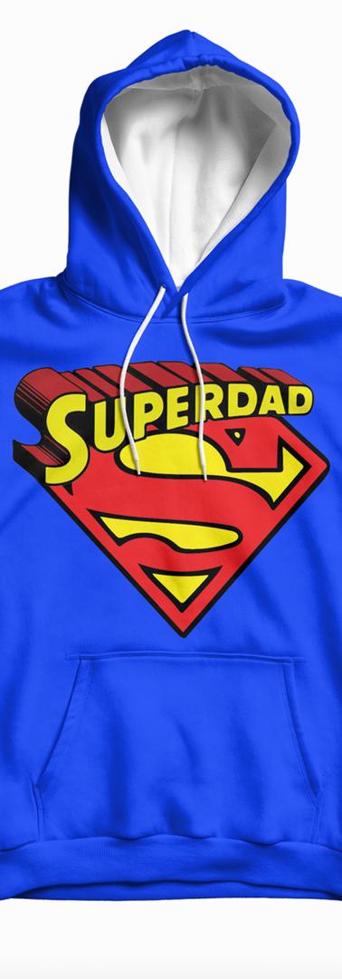 Superdad Blue Hoodies Logo.png