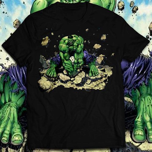 Hulk Smash T-shirt, The incredible hulk t shirt/Comics Hulk Smash