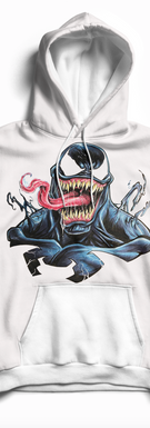 Venom White hoodie, pullover.png