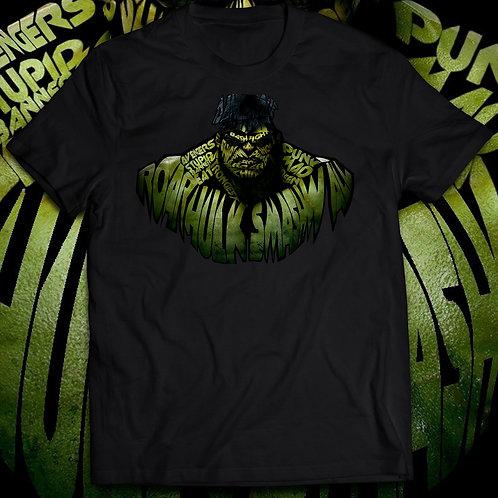 Hulk T-shirt, The incredible hulk t shirt/Texture Figure