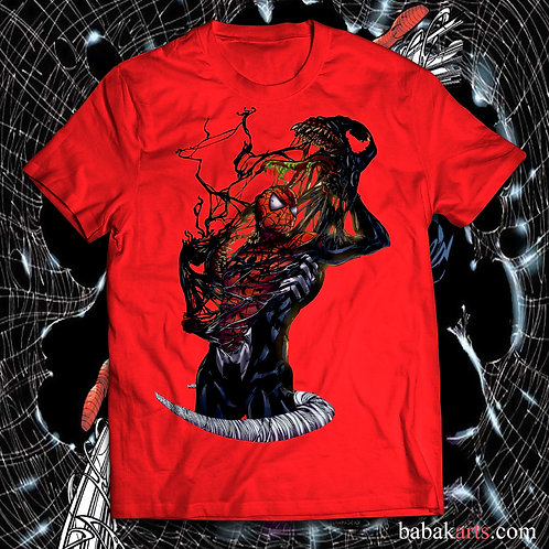 Venom vs Spiderman T-shirt, Spiderman t shirt Venom t shirt