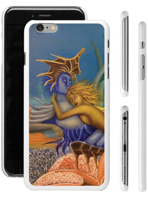 The Couple in Wonderland Mobile Case