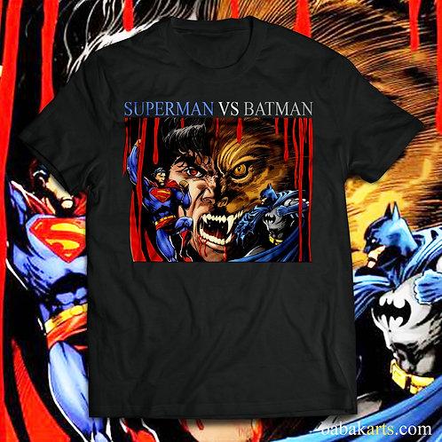 Superman vs Batman T-Shirt - Superman comics shirts