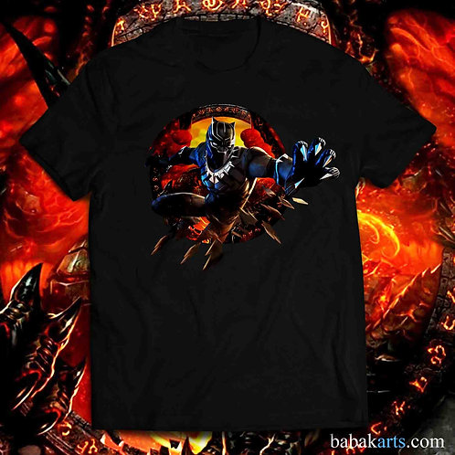 Black Panther T-Shirt - Black Panther Shirt - Marvel Black Panther shirt