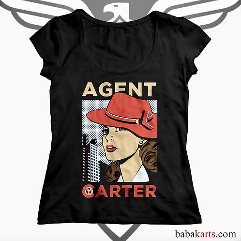 Agent Carter T-shirt, Agent Carter Shirts - Marvel Comics t shirt