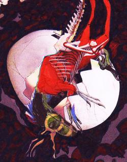 dinosaur character design animation - babakarts