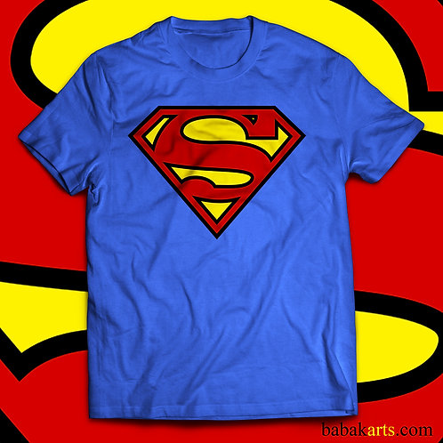 Superman original logo T-Shirt - Superman comics shirts