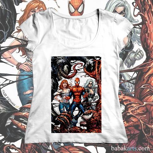 Spiderman vs VenomT-shirt, Spiderman Tee Shirt/ Marvel Superheroes t shirt