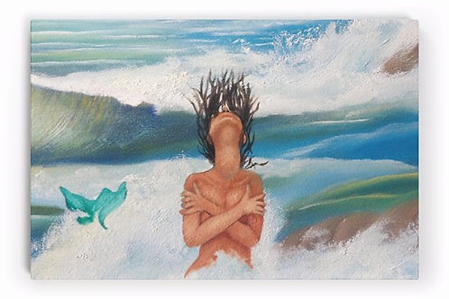 The Emotional Mermaid (Limited Edition Limited Edition on Canvas Art Print)