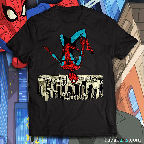 Spiderman T-shirt, Spiderman in NY Comics t shirt