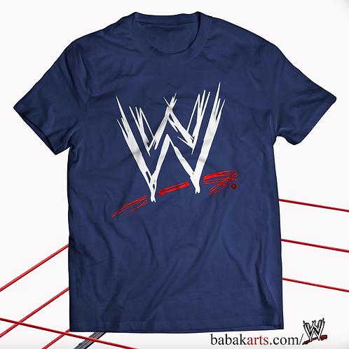 Official T Shirt World Wrestling Entertainment WWE, Classic Logo