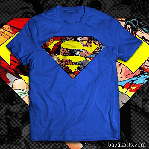 Superman logo T-Shirt - Superman comics shirts