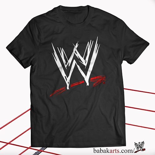 Official T Shirt World Wrestling Entertainment WWE, Classic Logo