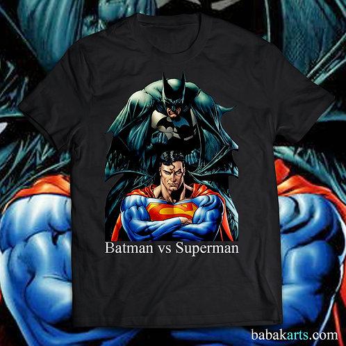 Batman & Superman T-Shirt - Batman Superman comics shirts