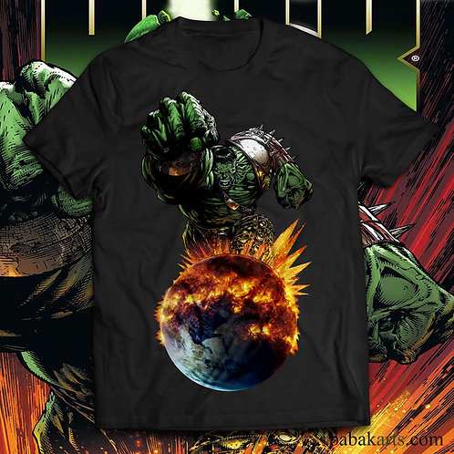 Hulk T-shirt, The incredible hulk t shirt/World War