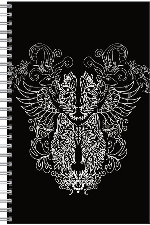 Black Animorphia Notebook