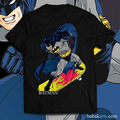 Batman Skateboard T-Shirt - Batman comics shirts