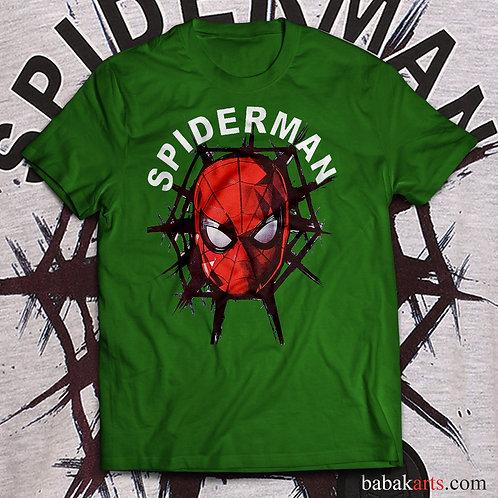 Spiderman T-shirt, Spiderman face/ Comics t shirt