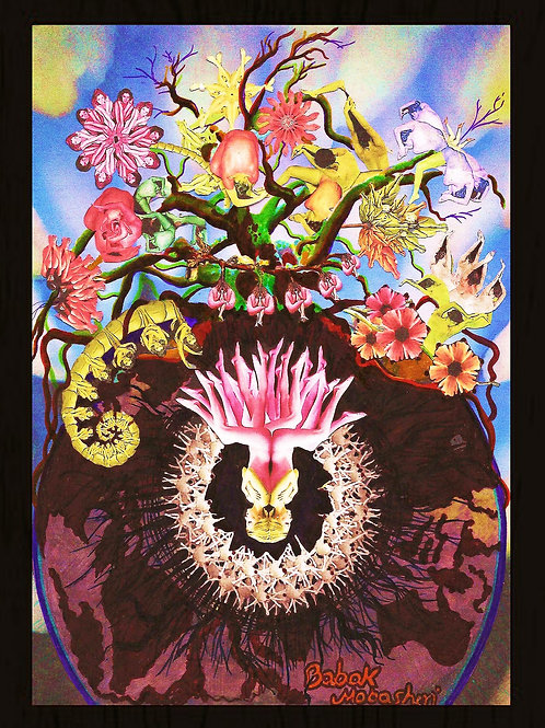 Plants Fantasy Poster