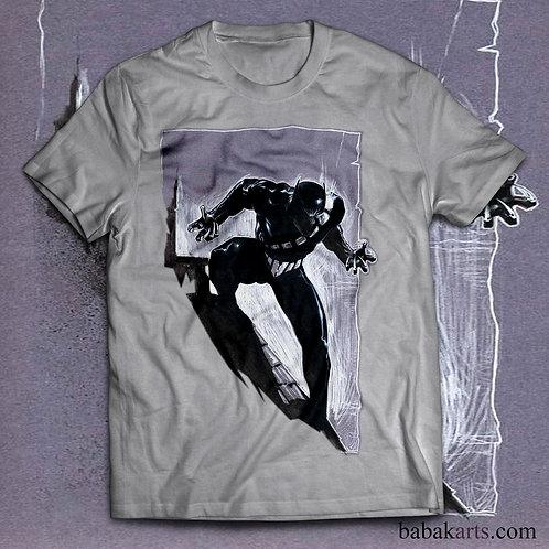 copy of Black Panther T-Shirt - Black Panther Shirt - Marvel Black Panther Tee