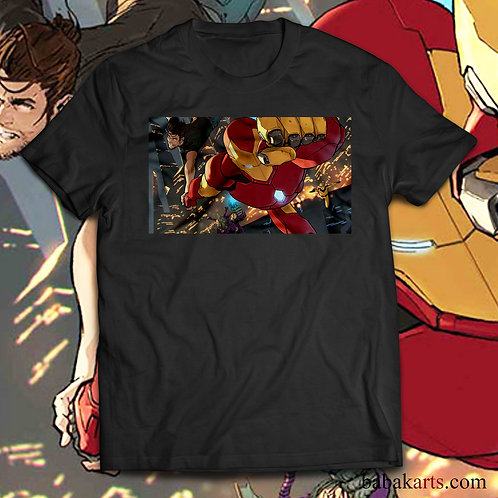 Iron Man  T-Shirt - Iron Man Marvel shirts