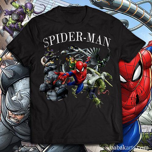 Spiderman T-shirt, Spiderman Tee Shirt/ Comics t shirt
