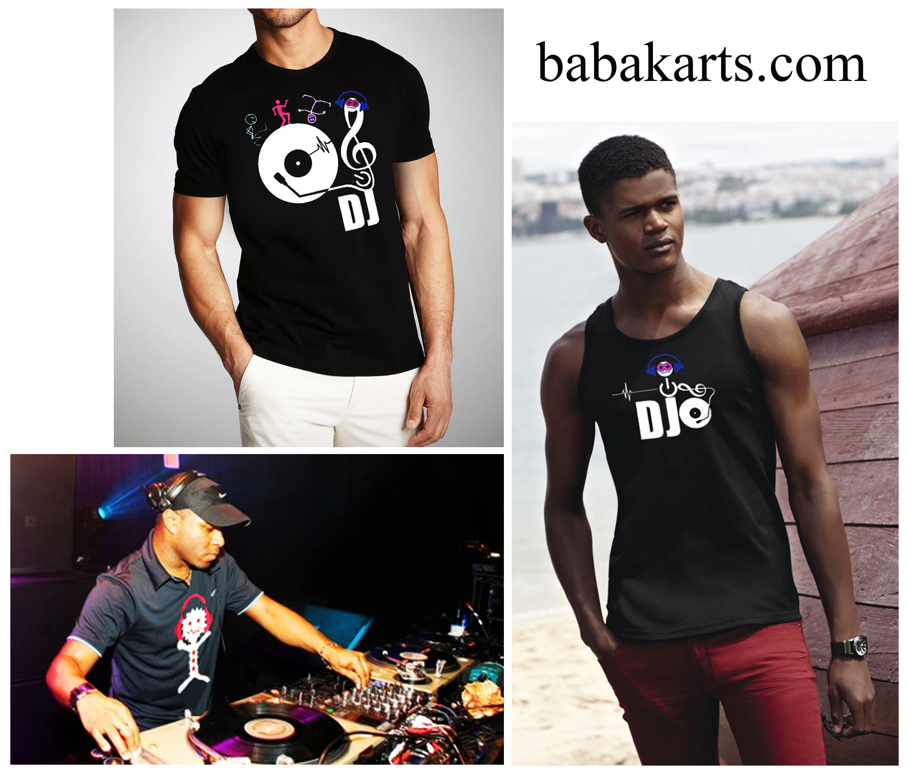 Dj by babak mobasheri -  babakarts - Fashion