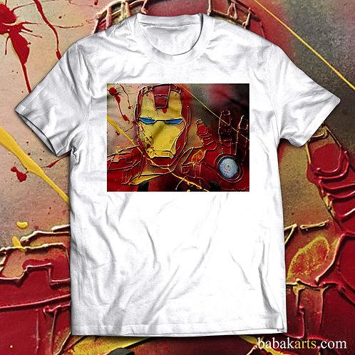 Iron Man  Abstract T-Shirt - Iron Man Marvel shirts