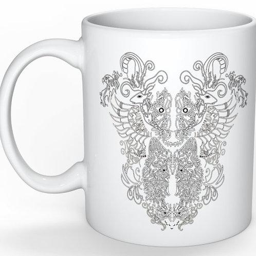 Animorphia Mug