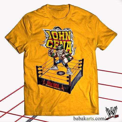 John Cena T-Shirt, WWE Shirt, WWE Tee