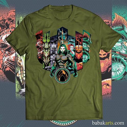 Aquaman T-shirt, Aquaman Shirts - Marvel Comics t shirt